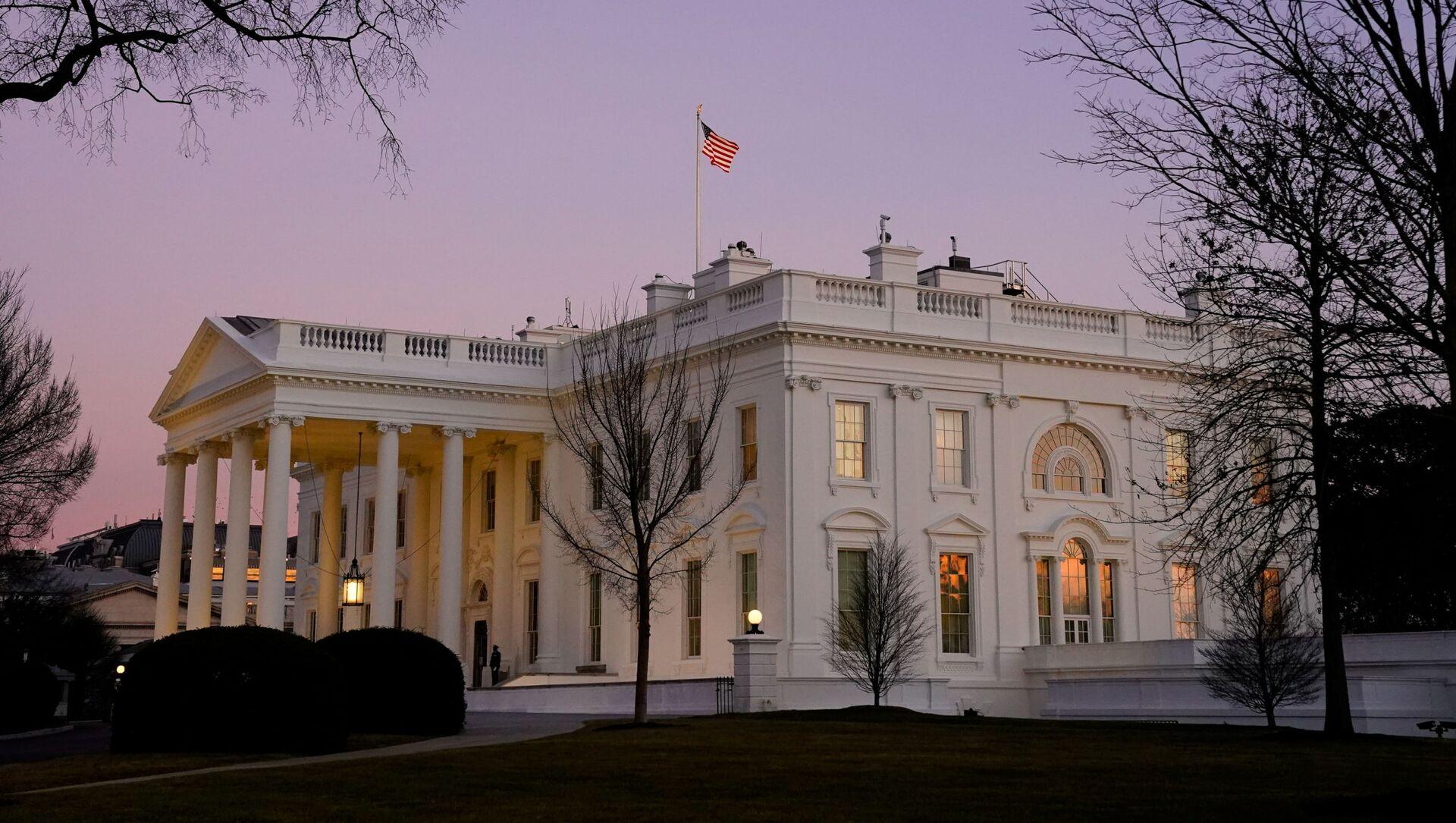 Výhled na Bílý dům ve Washingtonu - Sputnik Česká republika, 1920, 04.02.2021