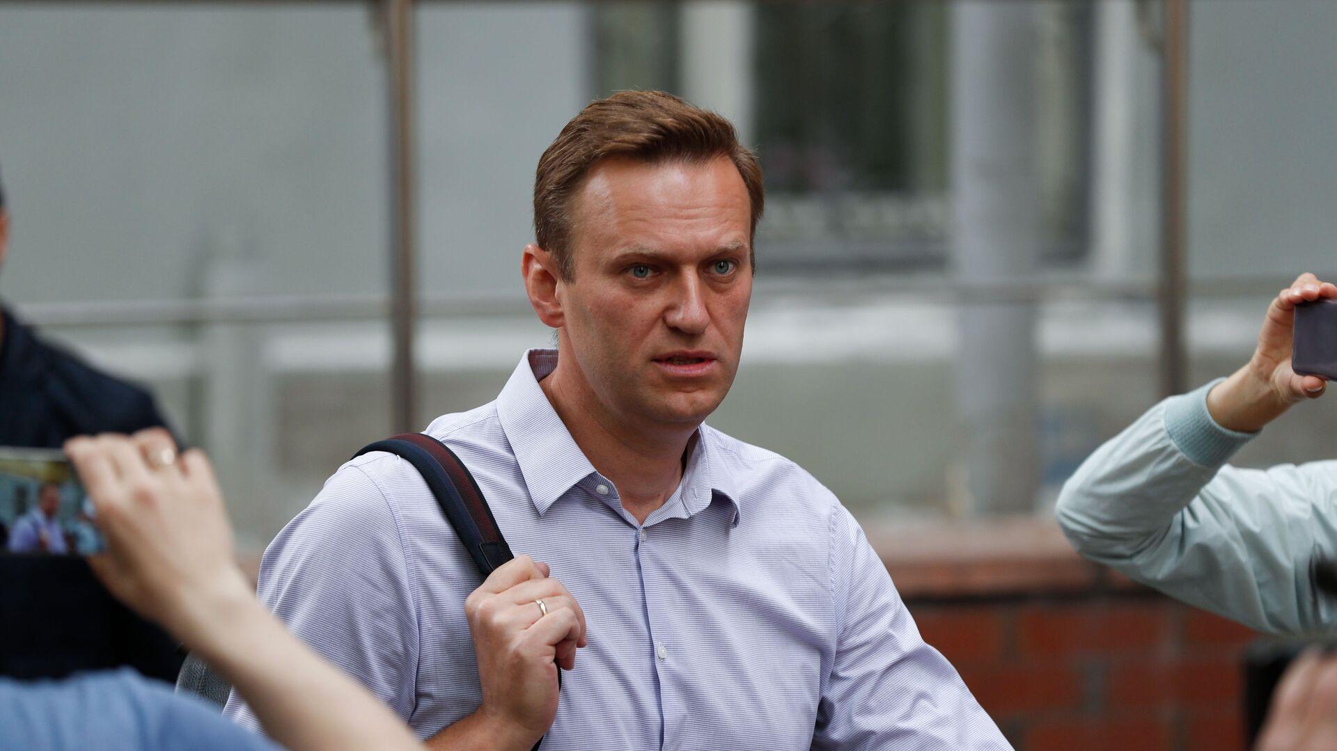 Bloger Alexej Navalnyj v Moskvě - Sputnik Česká republika, 1920, 05.02.2021