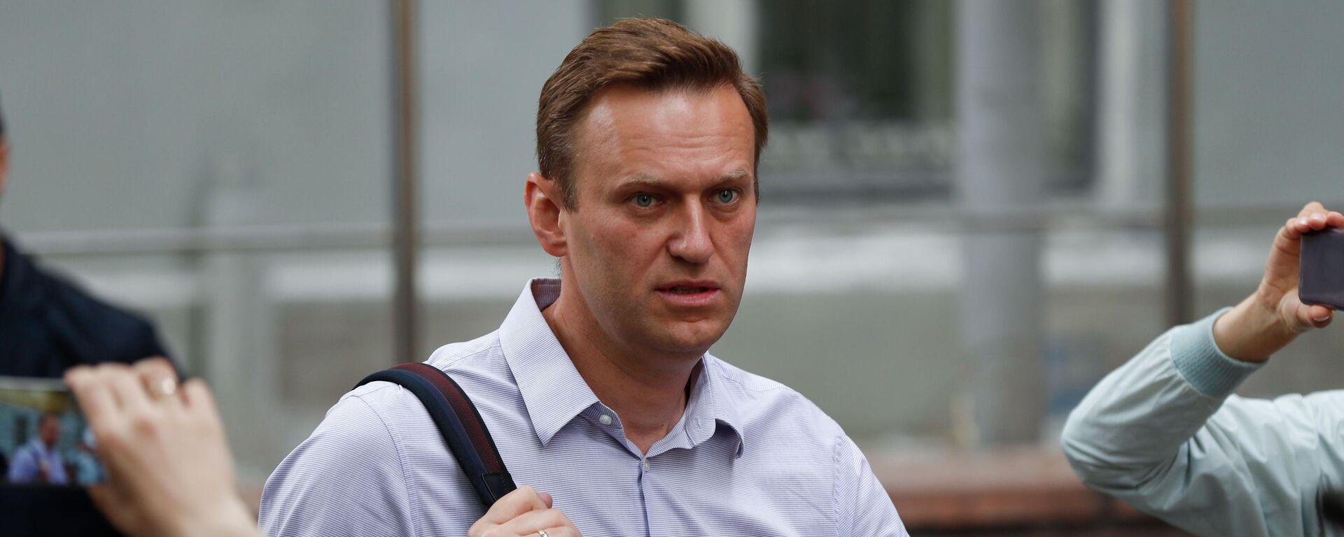 Bloger Alexej Navalnyj v Moskvě - Sputnik Česká republika, 1920, 01.02.2021