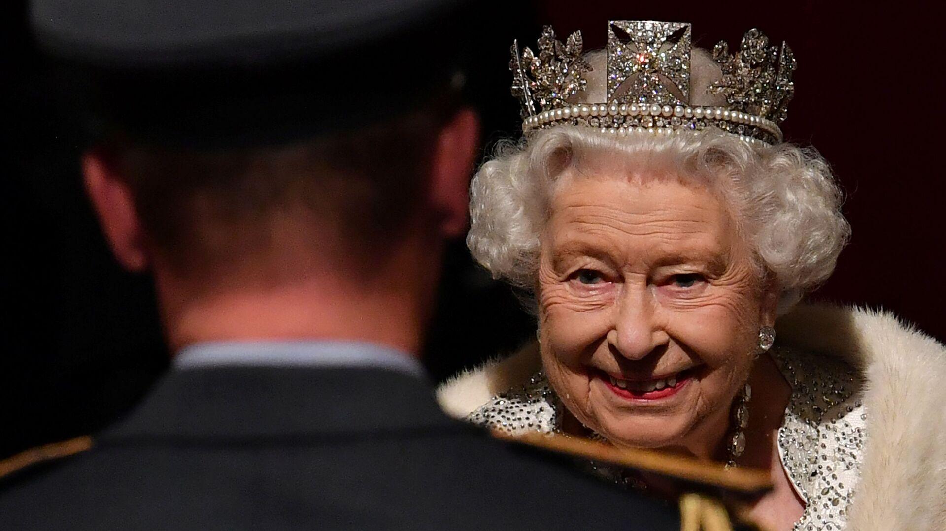 Britská královna Alžběta II při otevření parlamentu v Londýně - Sputnik Česká republika, 1920, 30.09.2021