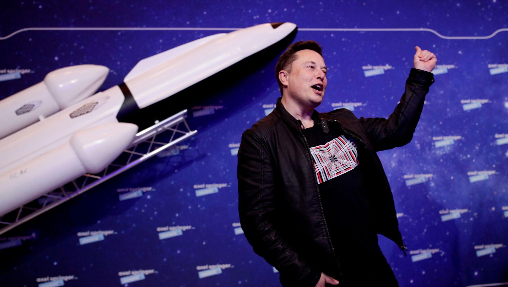 Podnikatel Elon Musk  - Sputnik Česká republika, 1920, 01.02.2021