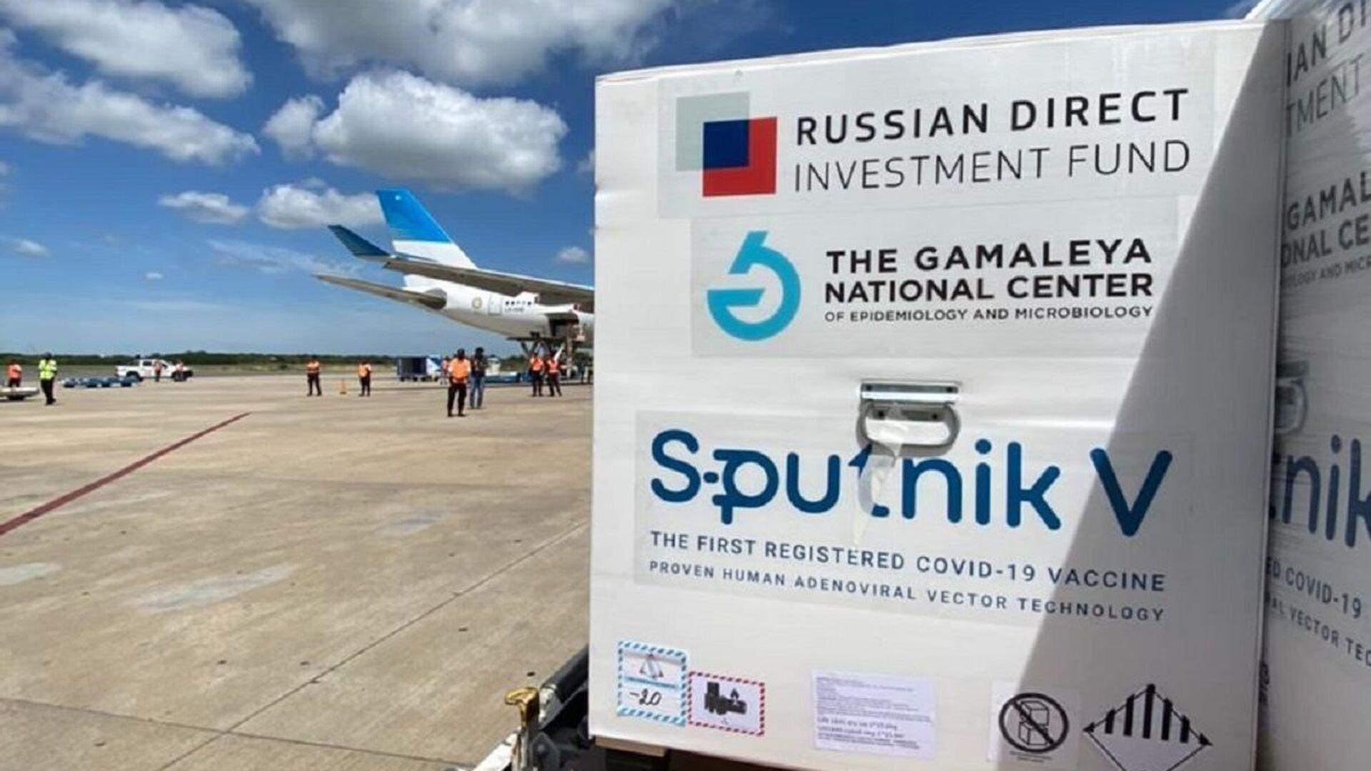 Sputnik V. Ilustrační foto - Sputnik Česká republika, 1920, 01.02.2021