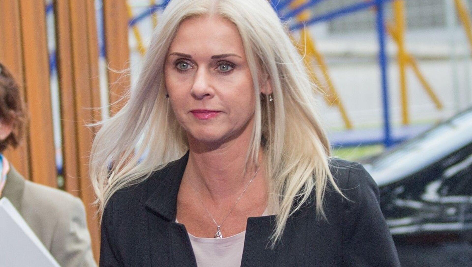 Bývalá tajemnice ministerstva spravedlivosti SR Monika Jankovská - Sputnik Česká republika, 1920, 02.02.2021