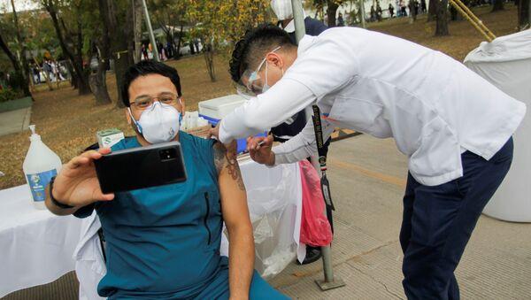 Vakcinace v Mexiku - Sputnik Česká republika
