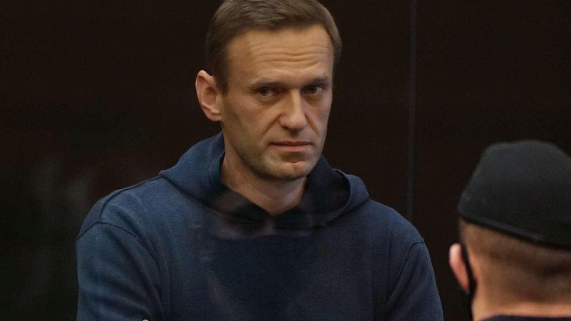 Alexej Navalnyj na zasedání Moskevského městského soudu - Sputnik Česká republika, 1920, 15.02.2021