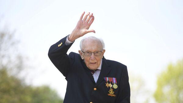 Britský veterán sir Thomas Moore - Sputnik Česká republika