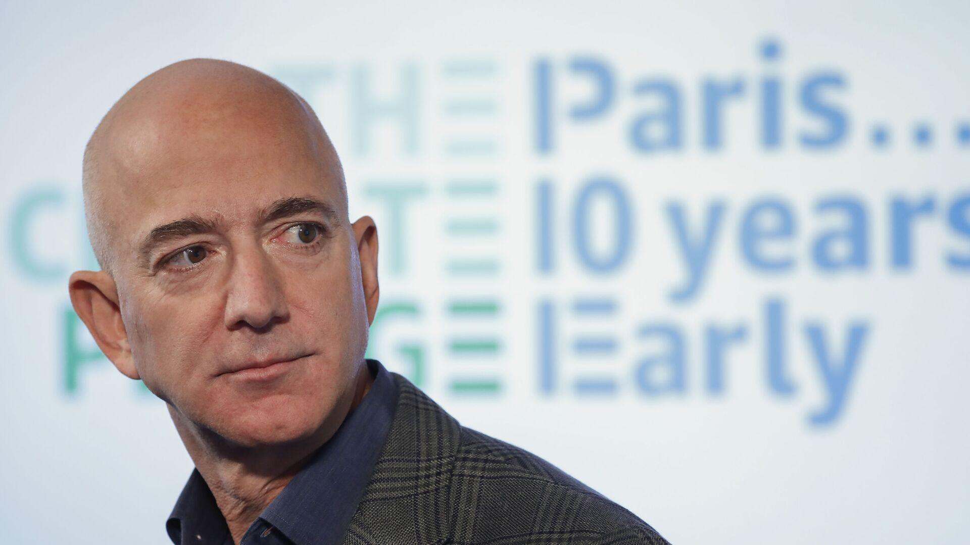 Zakladatel Amazonu Jeff Bezos  - Sputnik Česká republika, 1920, 07.09.2021
