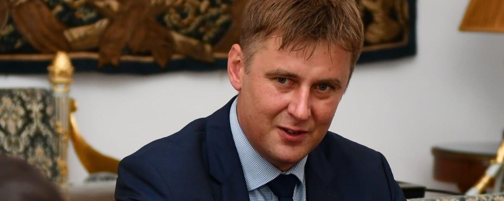 Ministr zahraničí a místopředseda ČSSD Tomáš Petříček - Sputnik Česká republika, 1920, 18.02.2021