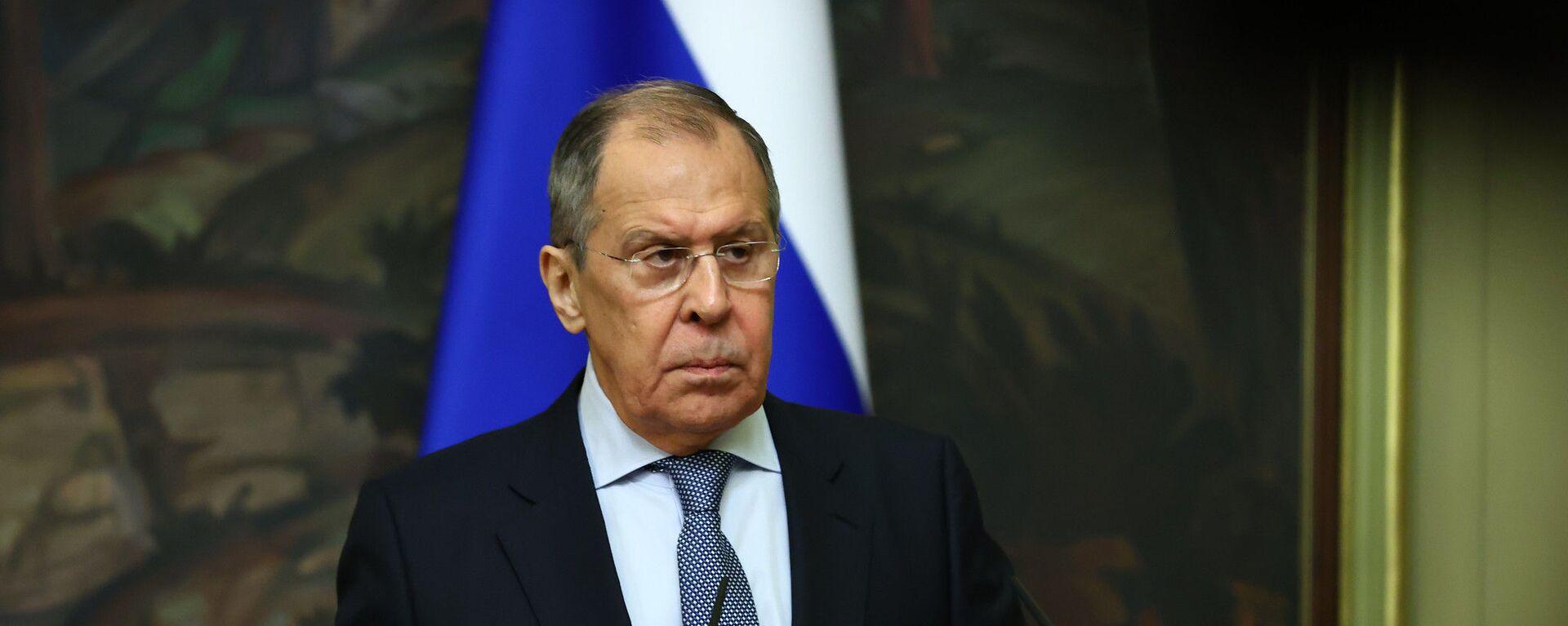 Ruský ministr zahraničí Sergej Lavrov - Sputnik Česká republika, 1920, 06.04.2021