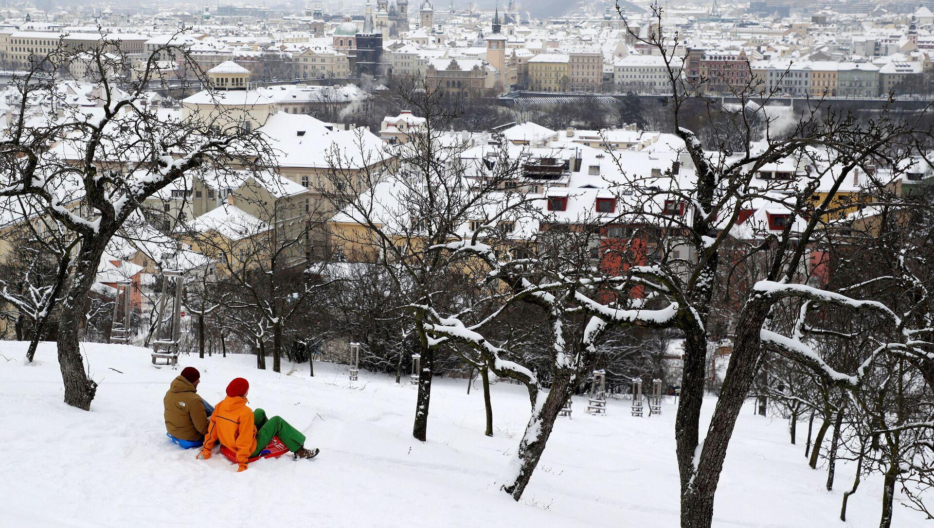 Zimní pohled na Prahu - Sputnik Česká republika, 1920, 15.02.2021