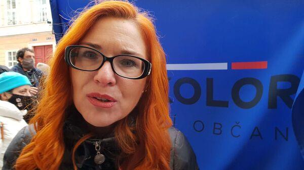 Zuzana Majerová odpověděla Sputniku na dotaz - Sputnik Česká republika