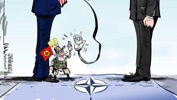 Erdogan obvinil USA z podpory teroristů - Sputnik Česká republika