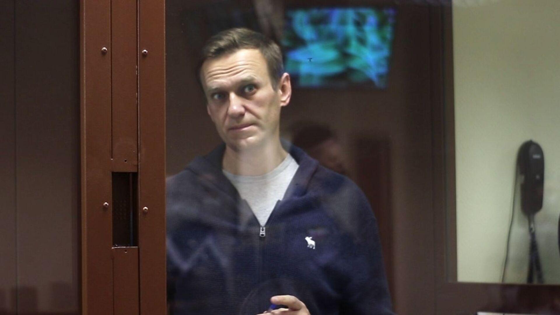 Alexej Navalnyj u soudu - Sputnik Česká republika, 1920, 26.02.2021