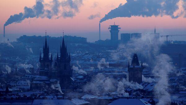 Pohled na zimní Prahu, 2021 - Sputnik Česká republika