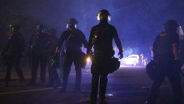 Policie v Portlandu - Sputnik Česká republika