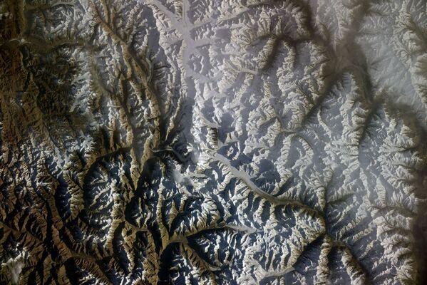 Výhled na horský masiv Karakorum. - Sputnik Česká republika