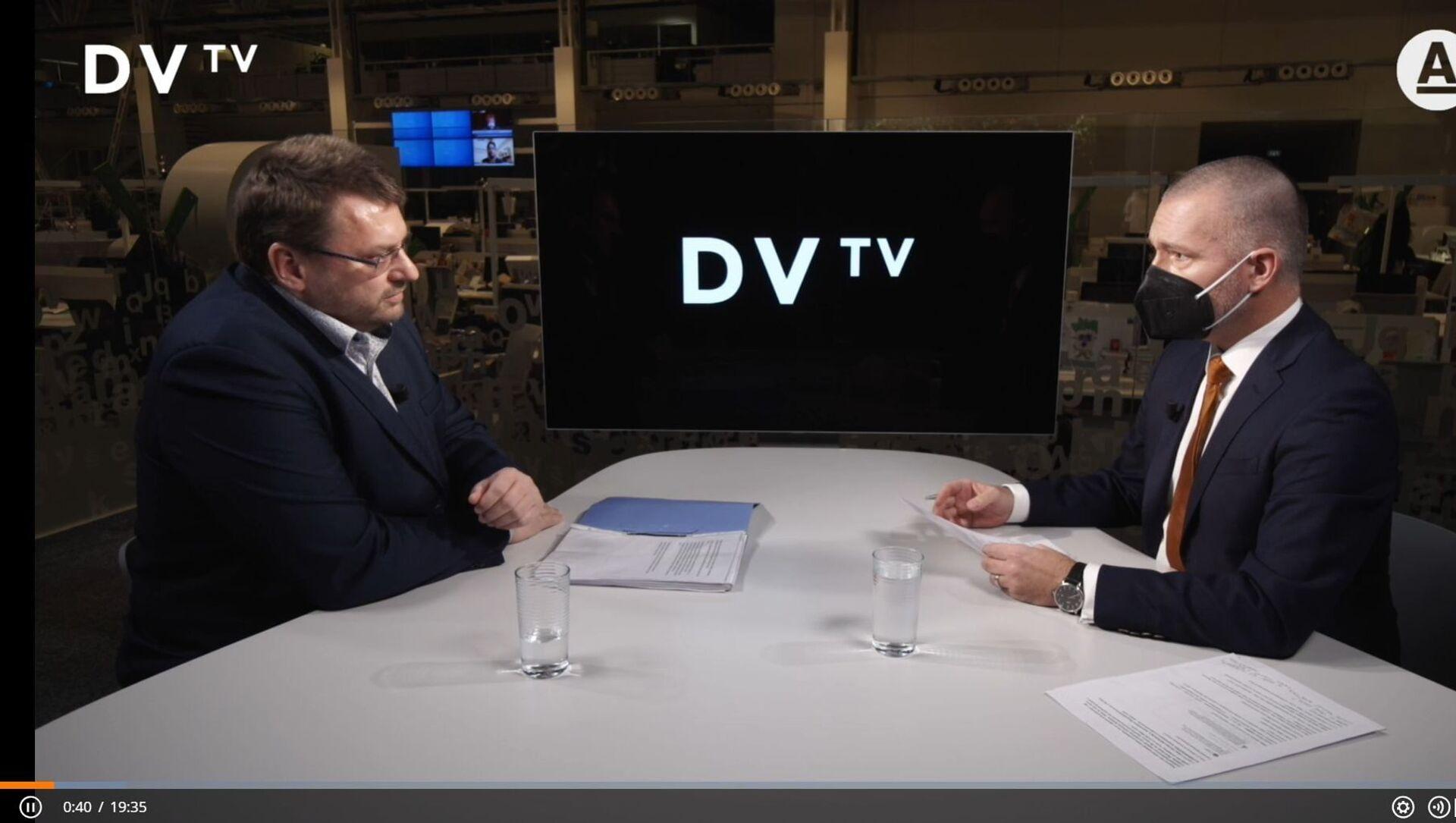 Rozhovor Volného a Veselovského. DVTV - Sputnik Česká republika, 1920, 18.02.2021