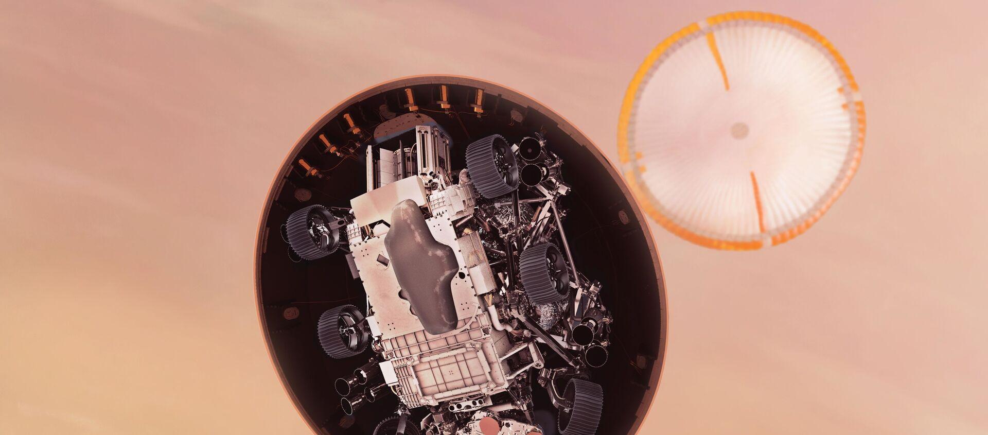 Americké vozítko Perseverance  - Sputnik Česká republika, 1920, 01.03.2021