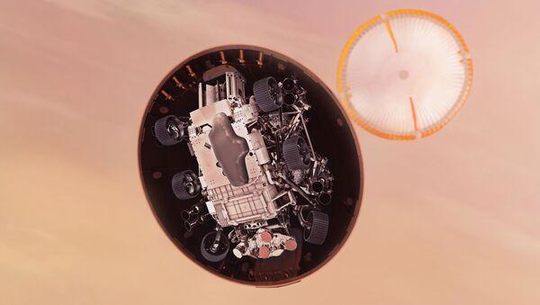 Americké vozítko Perseverance  - Sputnik Česká republika