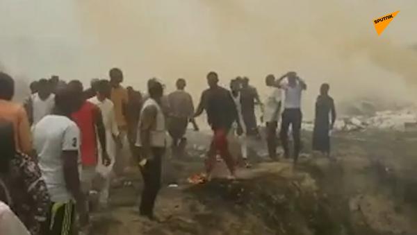 Při havárii letadla nigerijského letectva zemřelo sedm lidí - Sputnik Česká republika