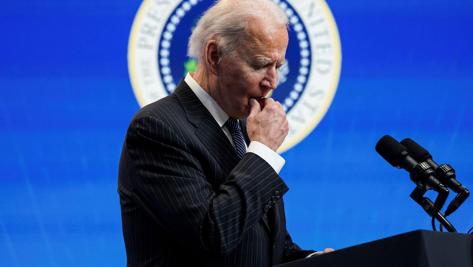 Prezident USA Joe Biden - Sputnik Česká republika, 1920, 24.02.2021