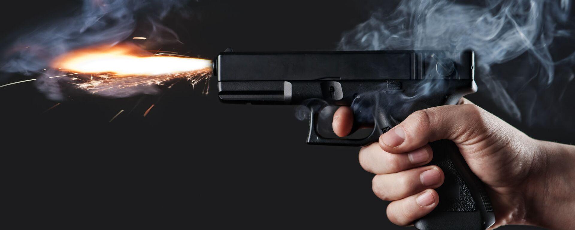 Střelba z pistole - Sputnik Česká republika, 1920, 21.07.2021