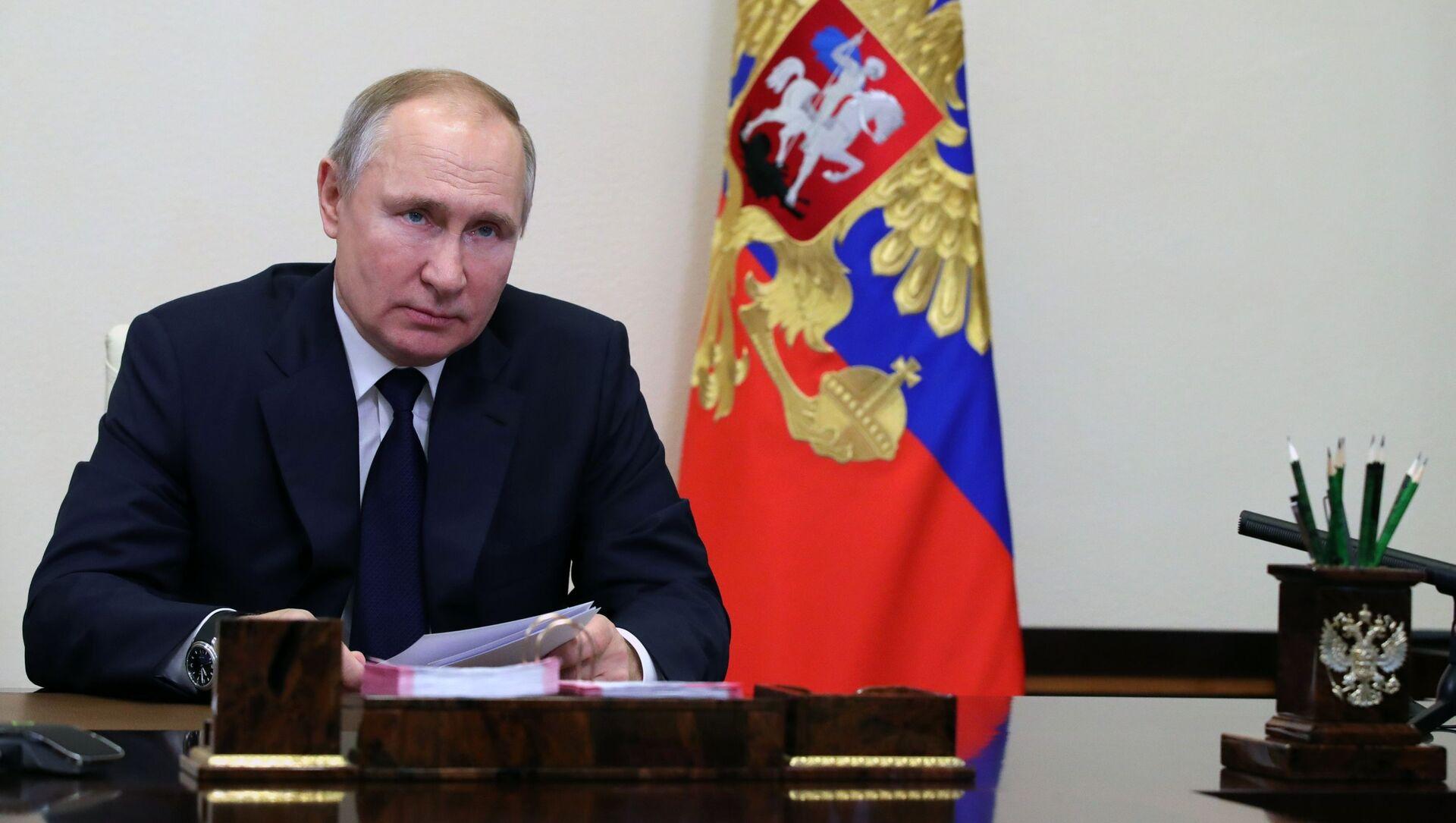 Ruský prezident Vladimir Putin - Sputnik Česká republika, 1920, 05.04.2021
