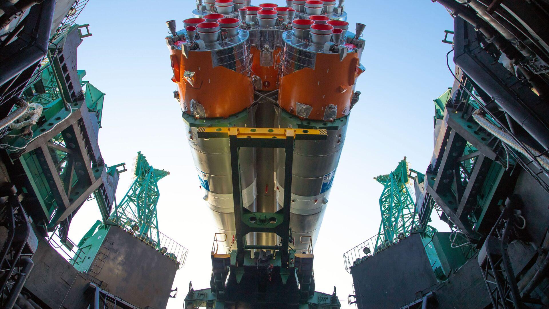 Sojuz-2.1b s první družicí Arktika-M  - Sputnik Česká republika, 1920, 28.02.2021