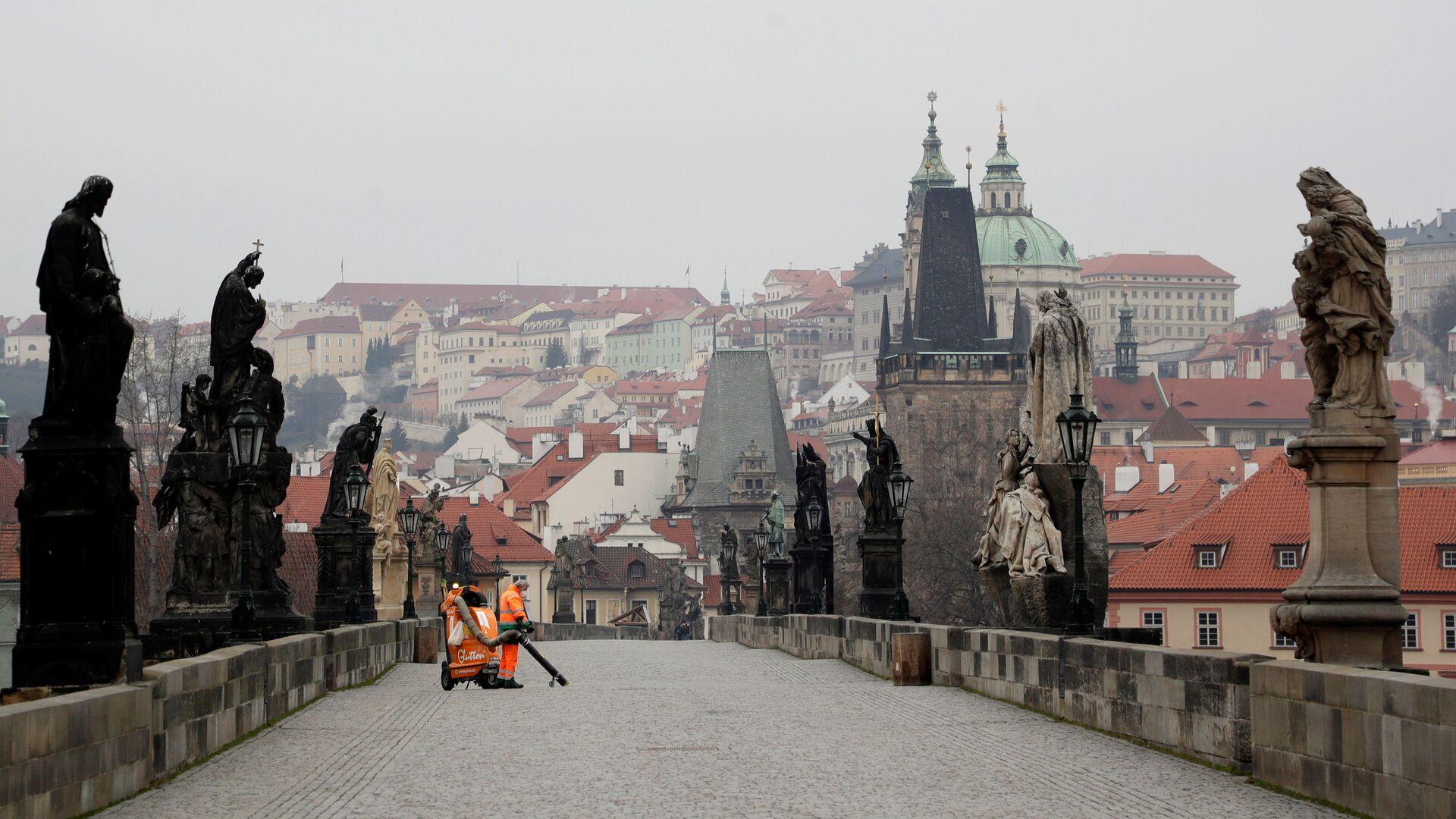 Praha, Karlův most - Sputnik Česká republika, 1920, 06.04.2021