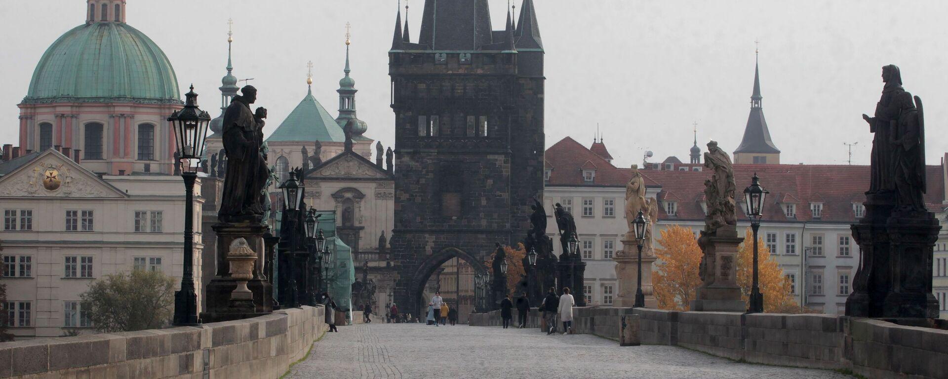 Praha, Karlův most - Sputnik Česká republika, 1920, 11.04.2021