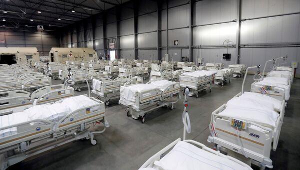 Polní nemocnicí v Letňanech - Sputnik Česká republika