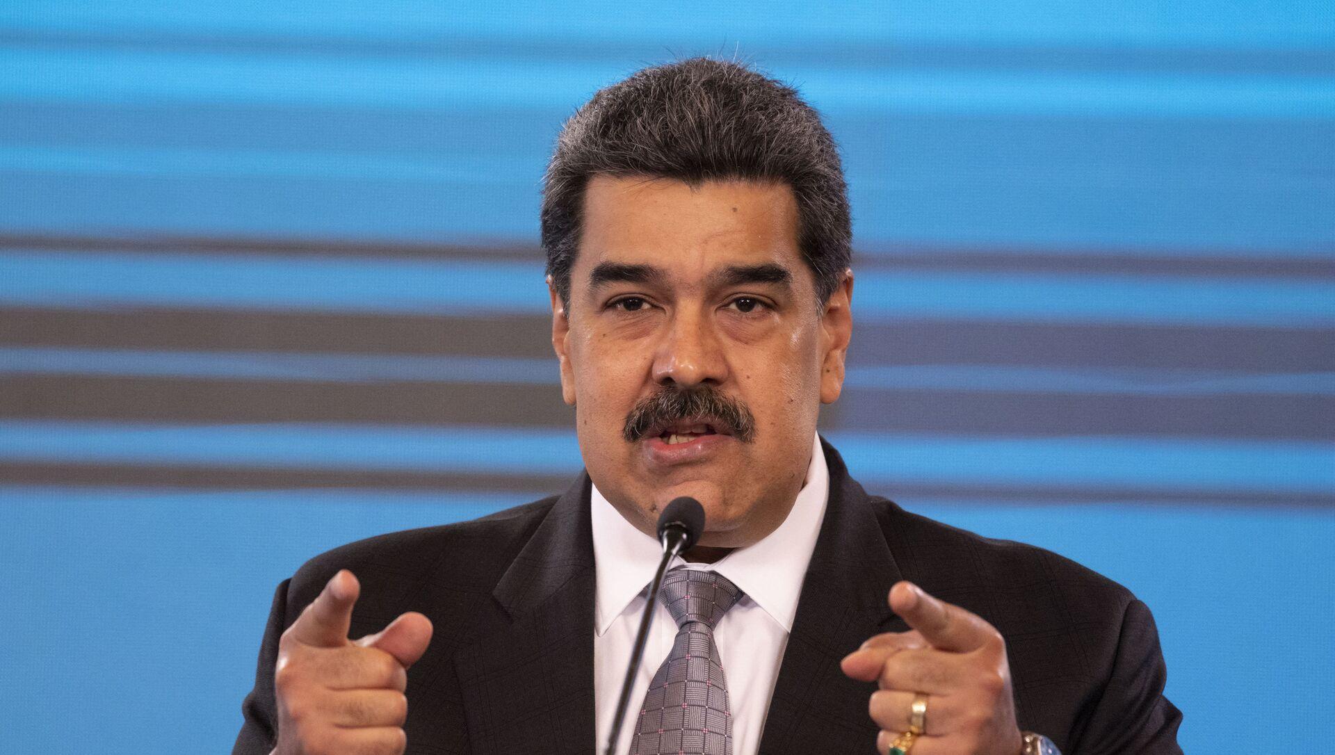 Venezuelský prezident Nicolás Maduro - Sputnik Česká republika, 1920, 06.03.2021