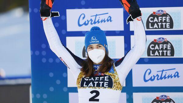 Slovenská reprezentantka v alpském lyžování Petra Vlhová - Sputnik Česká republika
