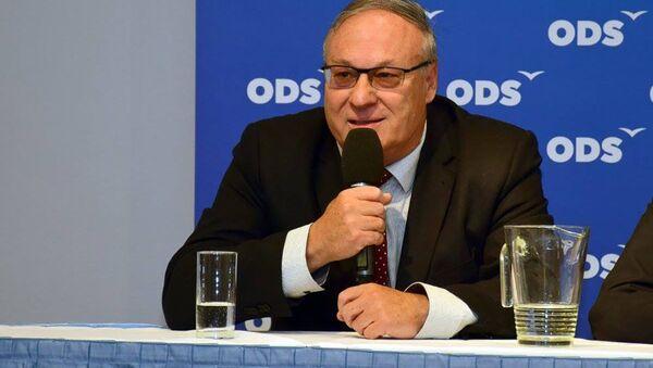 Poslanec za ODS Jiří Ventruba - Sputnik Česká republika