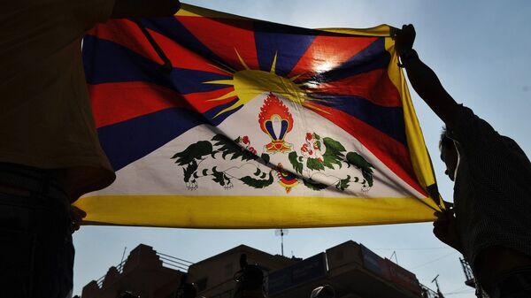 Tibetská vlajka - Sputnik Česká republika