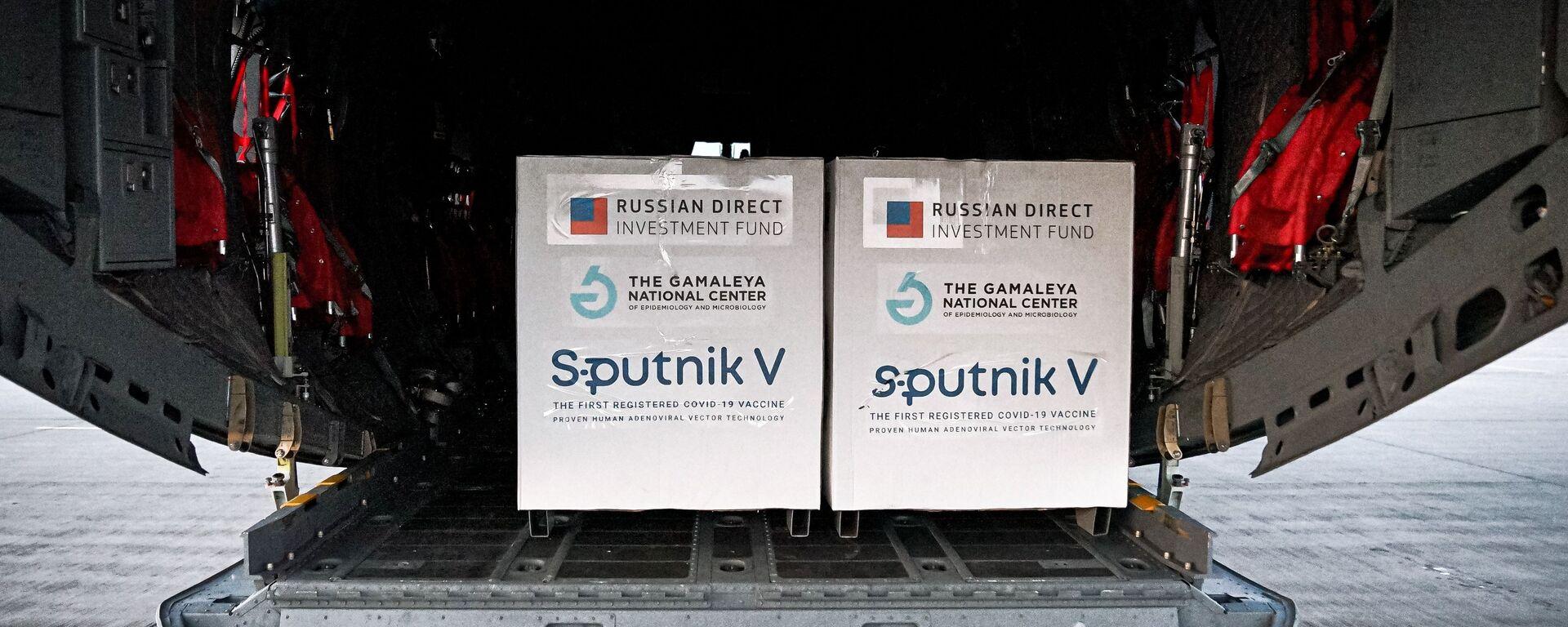 Dodávka ruské vakcíny Sputnik V na Slovensko - Sputnik Česká republika, 1920, 11.04.2021