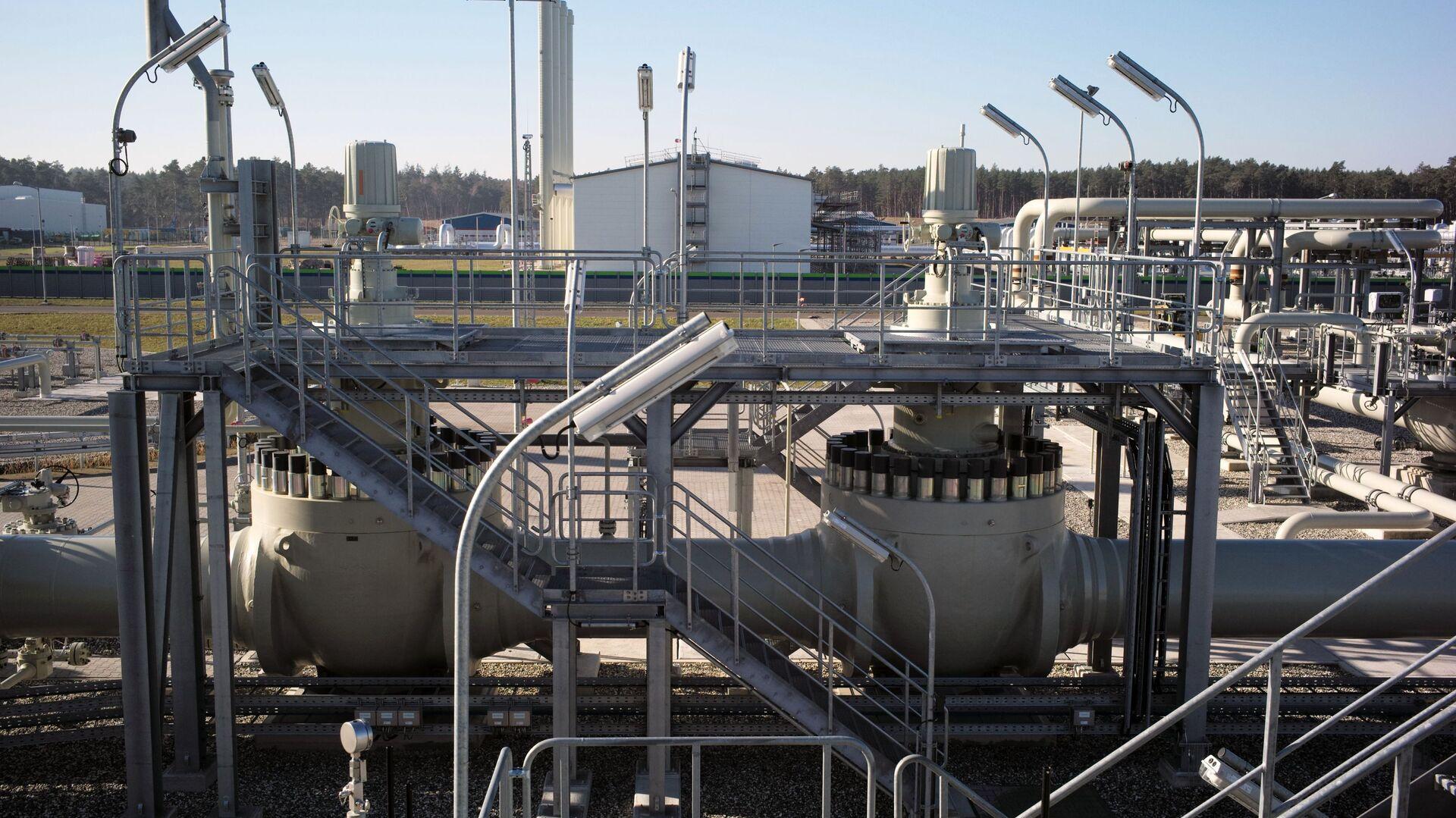 Pobřežní zařízení plynovodu Nord Stream 2 v německém Lubminu - Sputnik Česká republika, 1920, 11.03.2021