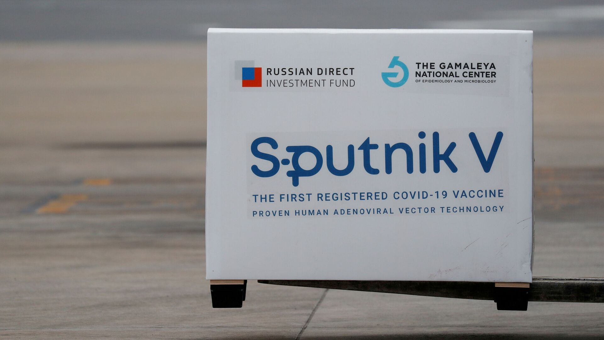 Zásilka vakcín Sputnik V přistává v argentinském Buenos Aires - Sputnik Česká republika, 1920, 16.03.2021