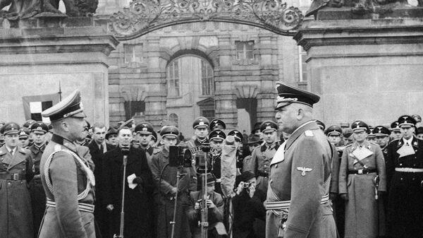 16. března byl vyhlášen protektorát Čechy a Morava - Sputnik Česká republika