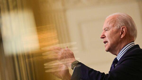 Prezidnet USA Joe Biden - Sputnik Česká republika