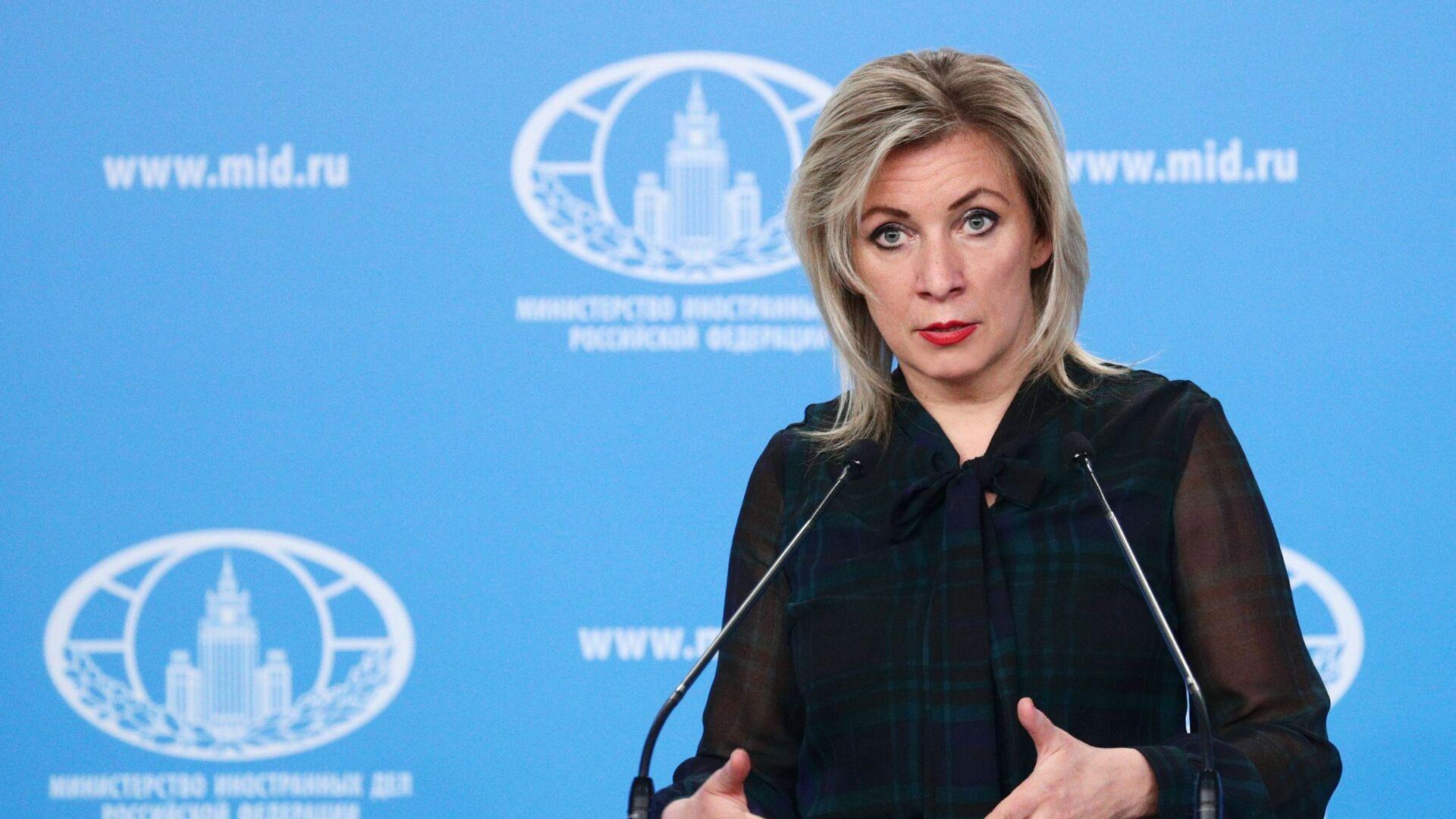 Mluvčí ruského ministerstva zahraničí Maria Zacharovová - Sputnik Česká republika, 1920, 23.09.2021