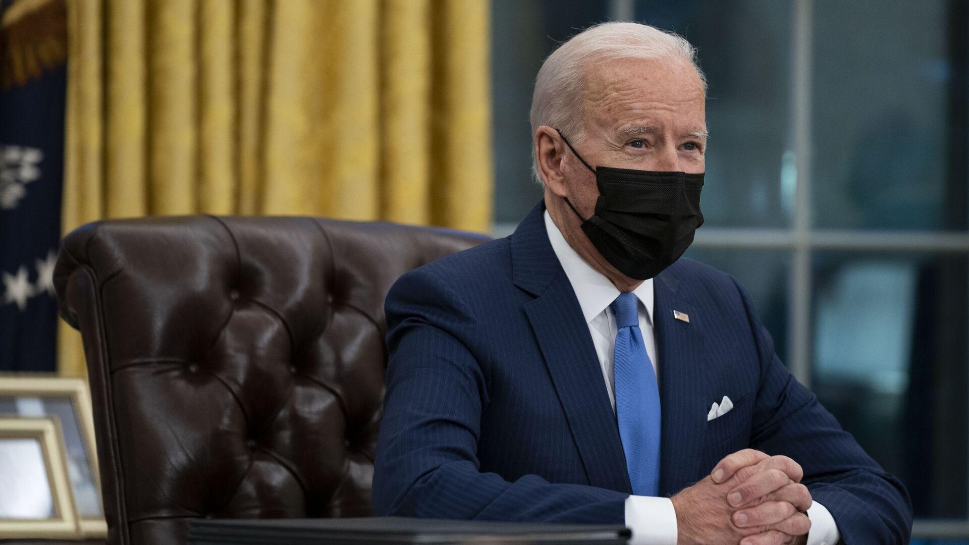 Joe Biden - Sputnik Česká republika, 1920, 18.03.2021