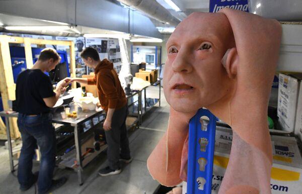 Experimentální vzorek v laboratoři pro vývoj umělé kůže ve Vladivostoku. - Sputnik Česká republika