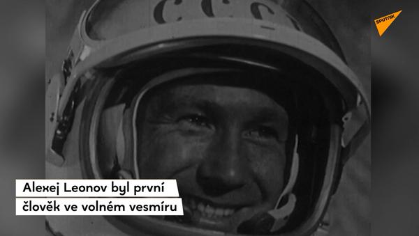 56 let od doby, kdy Alexej Leonov jako první člověk vstoupil do volného vesmíru - Sputnik Česká republika