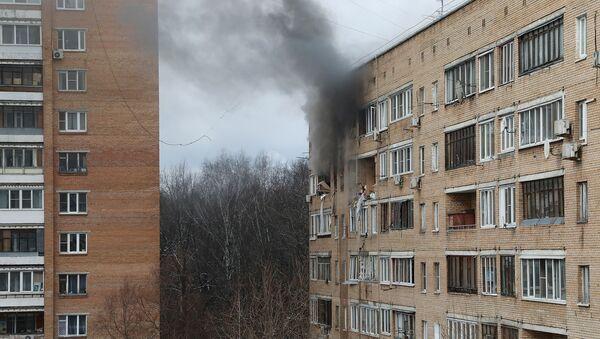 Městem Chimki poblíž Moskvy otřásl výbuch v bytovém domě - Sputnik Česká republika
