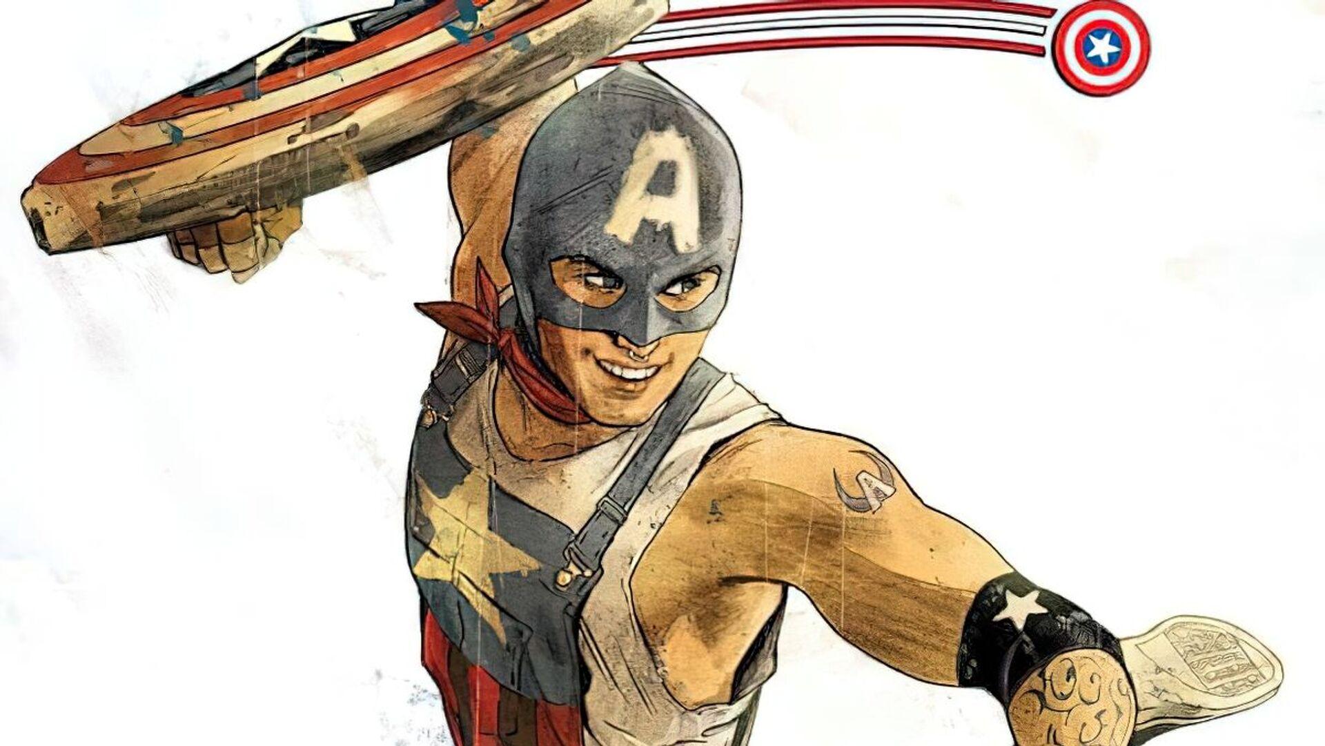 Homosexuální Captain America - Sputnik Česká republika, 1920, 20.03.2021