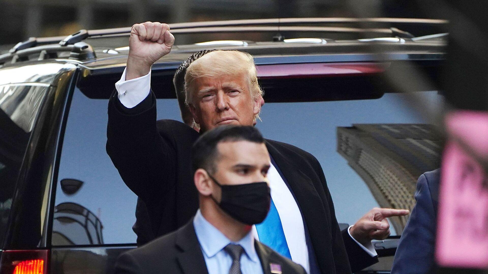 Bývalý americký prezident Donald Trump - Sputnik Česká republika, 1920, 22.03.2021