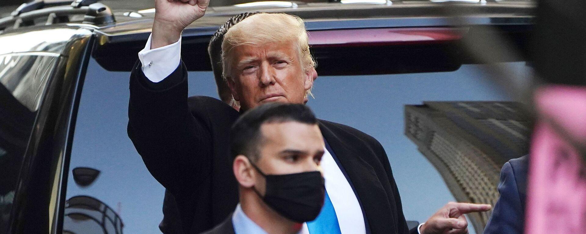 Bývalý prezident USA Donald Trump - Sputnik Česká republika, 1920, 21.09.2021
