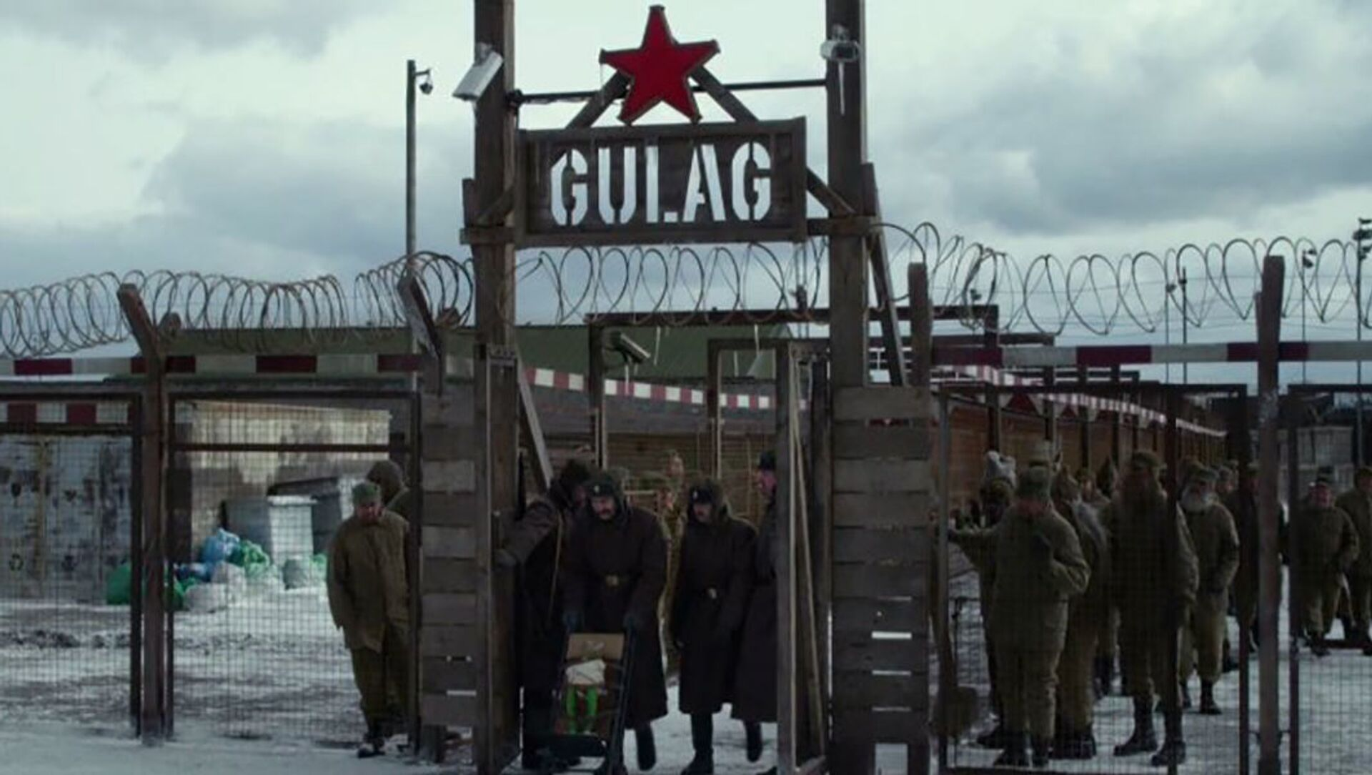Záběr z komediálního filmu A zase ti Mupeti! - Sputnik Česká republika, 1920, 22.03.2021
