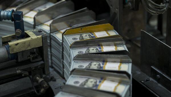 Tisk dolarů v Texase - Sputnik Česká republika
